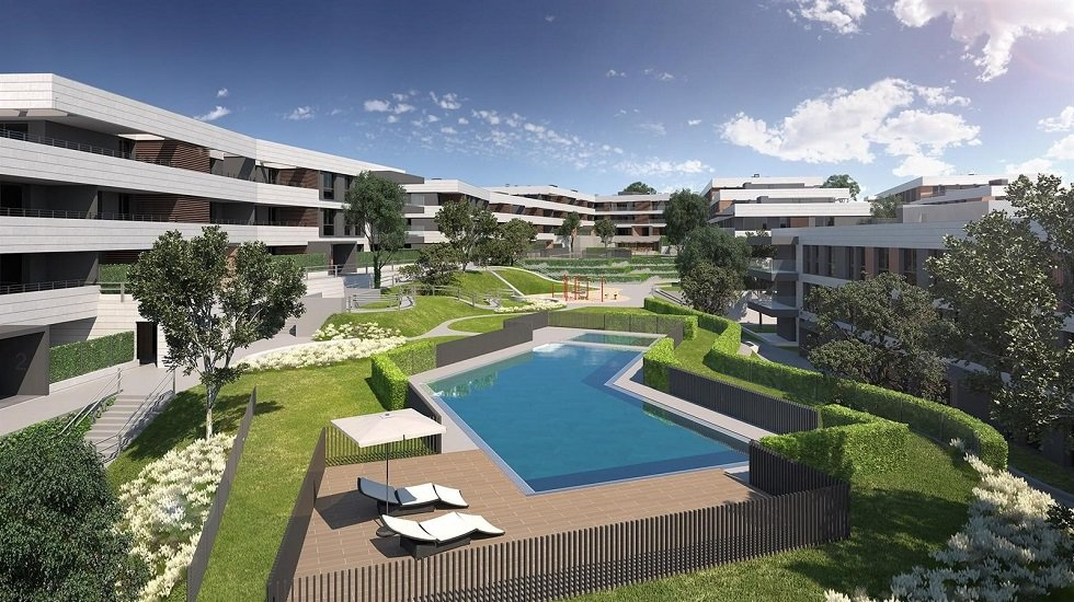 Neinor inicia la construcción de un proyecto residencial en Las Rozas