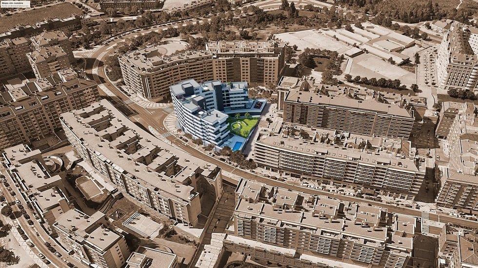 Pryconsa construirá 58 viviendas en la zona Parquesol de Valladolid