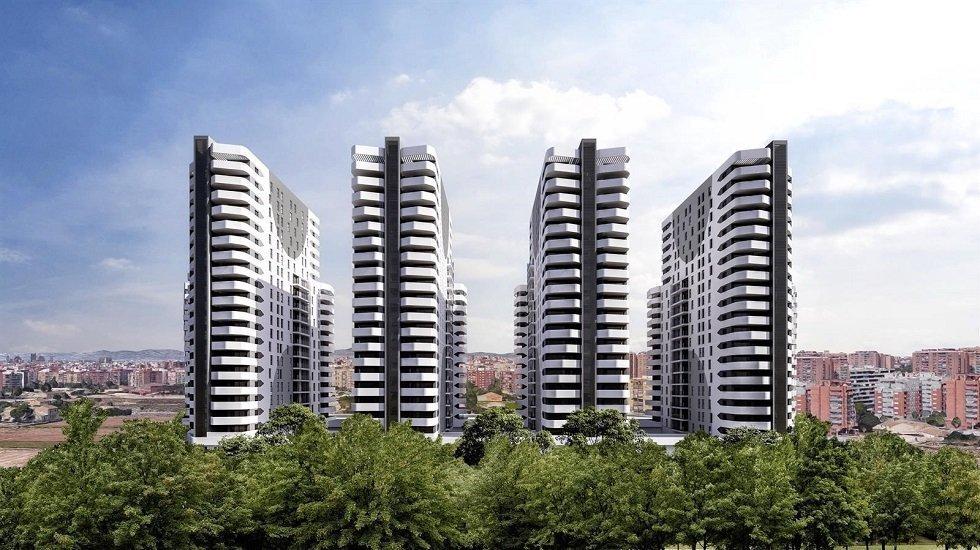 Neinor Homes construirá sus torres de viviendas en Valencia