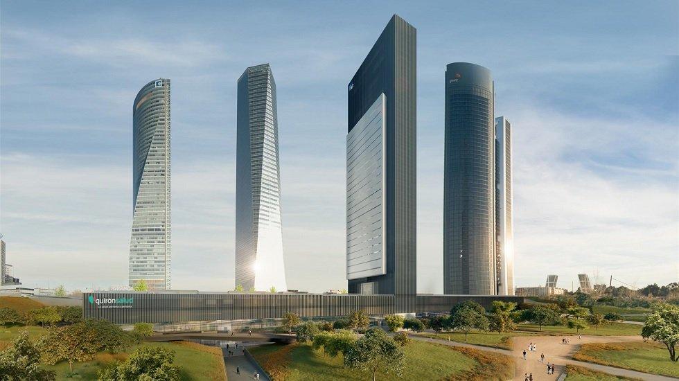 La quinta torre de la Castellana de Madrid tendrá un cine de lujo