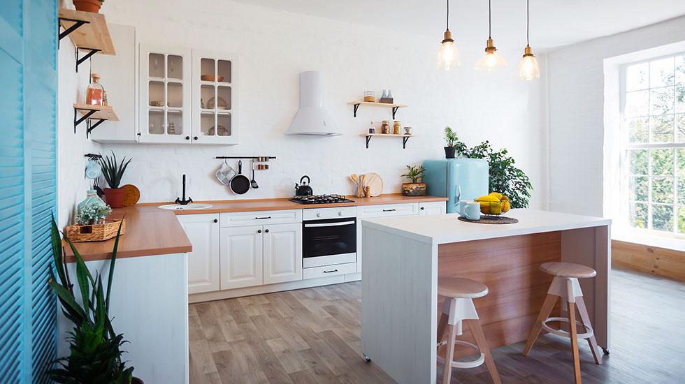 Cocinas blancas: la opción perfecta para tu hogar