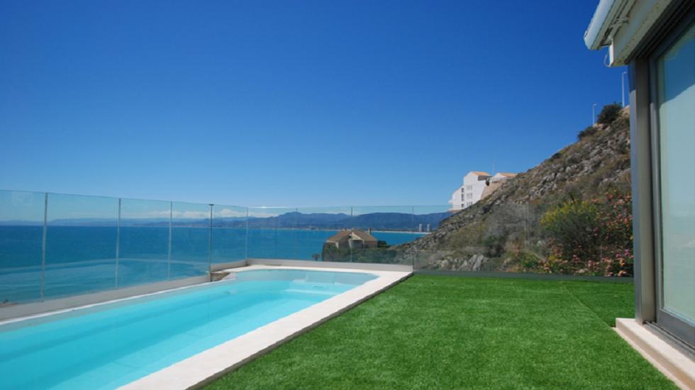 casa adosada con piscina en Cullera