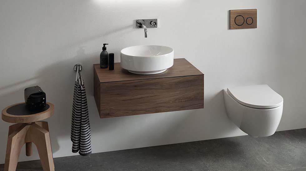 Las 4 claves para ganar espacio en un baño pequeño