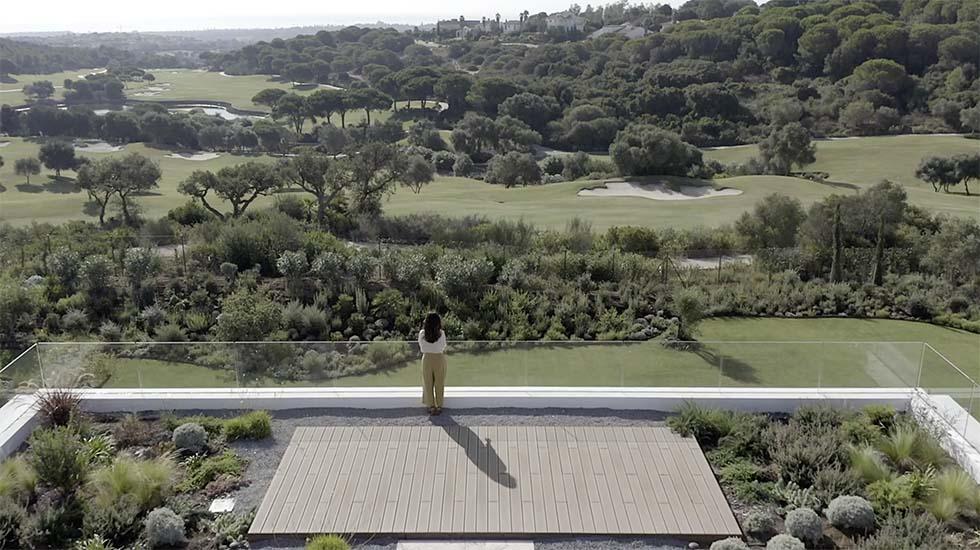 Villa de lujo sostenible en España