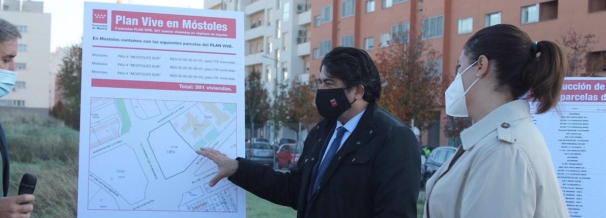 Madrid acusa a Gabilondo de copiar la política de vivienda del Gobierno regional