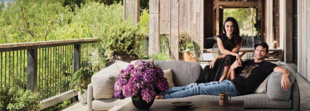 Asthon Kutcher y Mila Kunis abren las puertas de su nuevo hogar