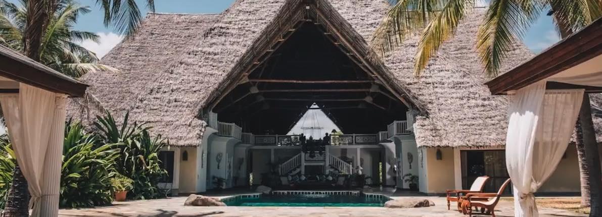 La impresionante villa en Kenia de Naomi Campbell