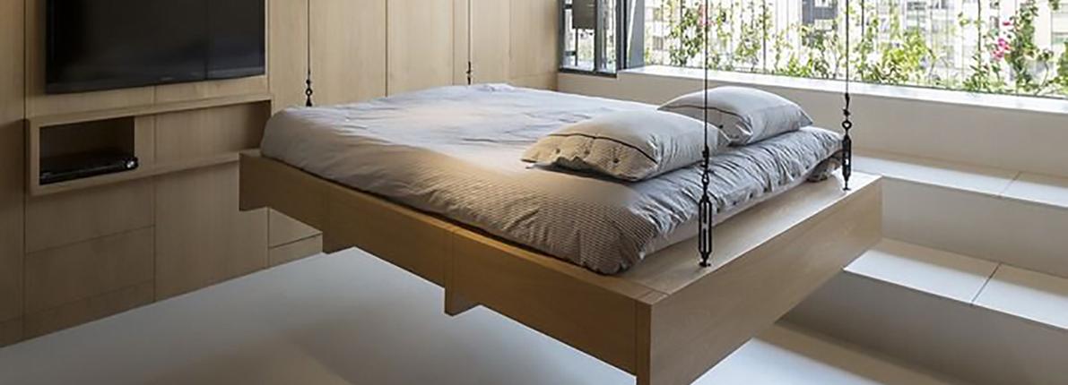 Las camas elevables para pisos pequeños se ponen de moda